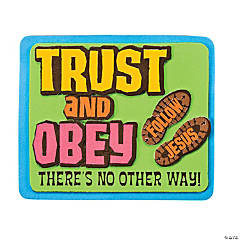 Trust and Obey Magnet Craft Kit
