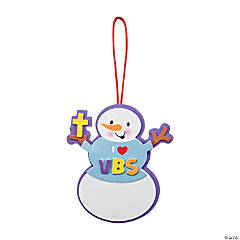 Snowman I Love VBS Ornament Craft Kit