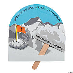 God Can Move Mountains Pop-Up Craft Kit