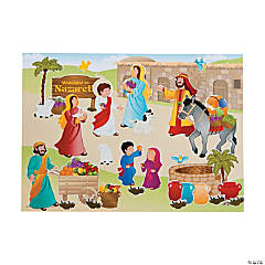 Nazareth Mini Sticker Scenes