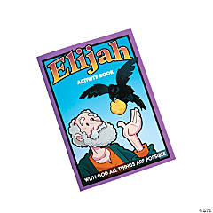 Elijah Activity Books