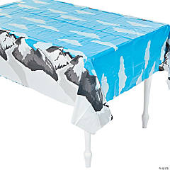 The Highest Power Mountain Tablecloth