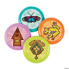 Walk His Way Mini Flying Discs