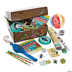 Walk His Way Treasure Chest Toy Assortment