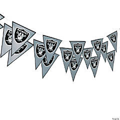 NFL® Oakland Raiders™ Pennant Banner