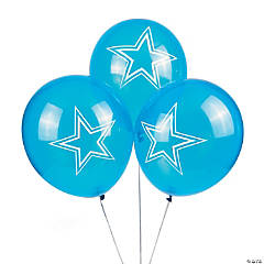 Latex NFL® Dallas Cowboys™ Balloons