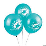 NFL® Miami Dolphins Latex Balloons