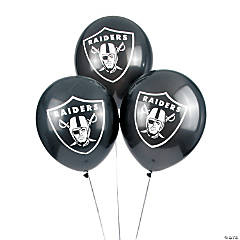 Latex NFL® Oakland Raiders™ Balloons