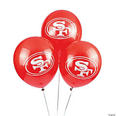 Latex NFL® San Francisco 49ers™ Balloons