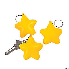 Star Stress Key Chains