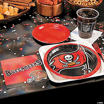 NFL® Tampa Bay Buccaneers Basic Party Pack