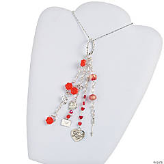 Dangle Valentine Necklace Idea