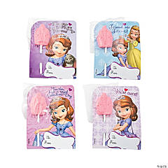 Sofia the First Valentine Candy Card Kit
