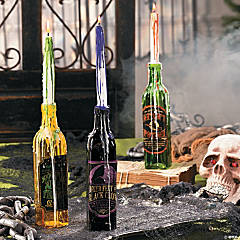 Creepy Candle Holders Idea