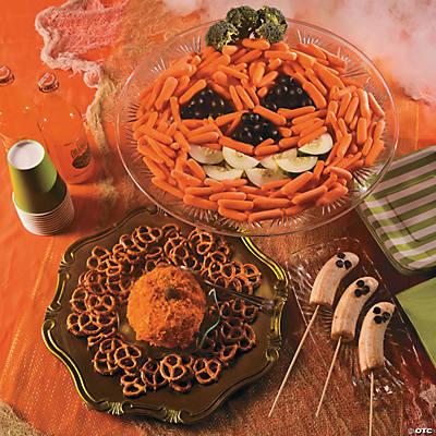 Pumpkin Veggie Tray Recipe Oriental Trading