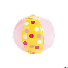 Inflatable Mini Lemonade Party Beach Balls