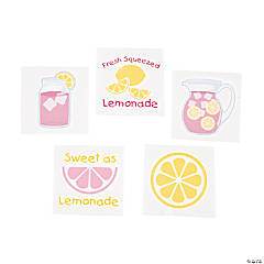 Lemonade Party Tattoos