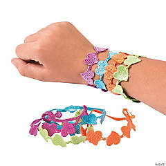 Bright Hearts Lace Bracelets