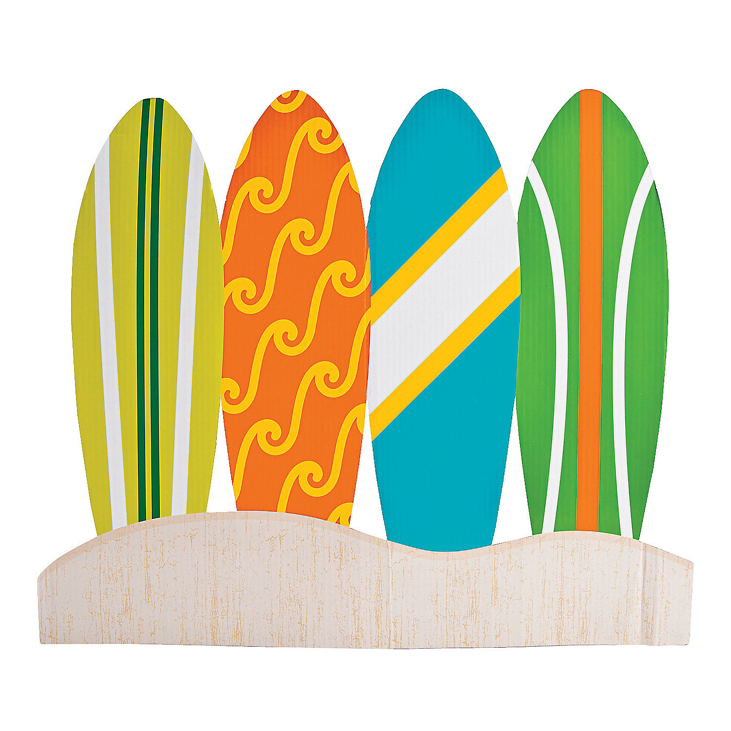 Surf's Up Birthday Table Topper, Centerpieces, Party Decorations, Party Supplies - Oriental Trading