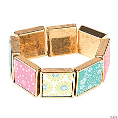 Antiqued Gold Framed Bracelet Craft Kit