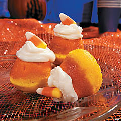 Mini Candy Corn Cupcakes Recipe