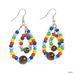 Mosaic Teardrop Earrings Craft Kit
