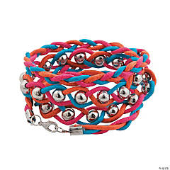 Bright Wrapped Bracelet Craft Kit
