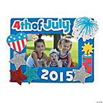 2015 4th of July Picture Frame Craft Kit