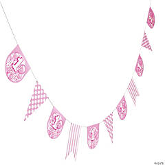 Pink 1st Birthday Garland
