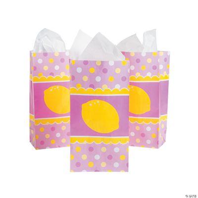 Lemonade Party Paper Treat Bags