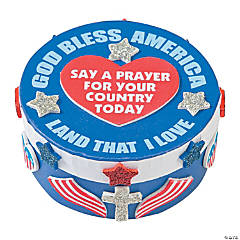 Patriotic Prayer Box Craft Kit