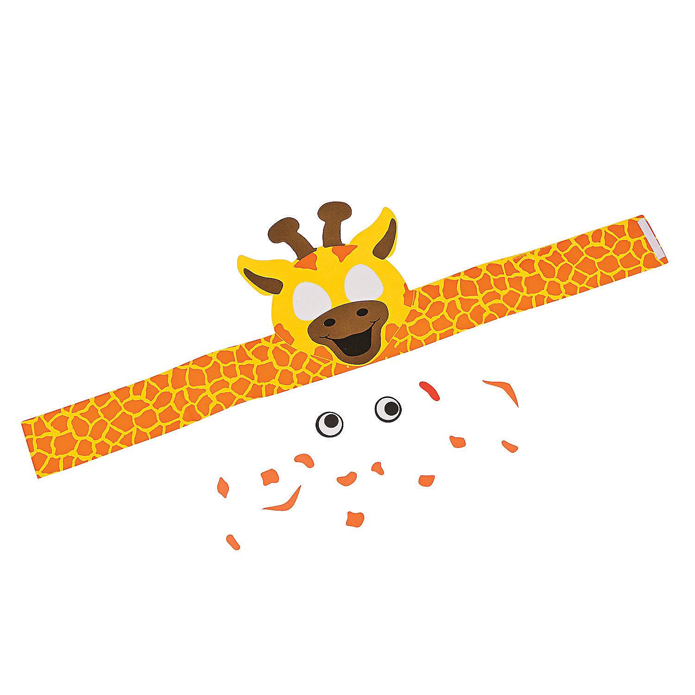 Giraffe Headband Craft Kit - Oriental Trading - photo#33