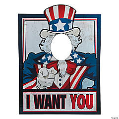 Uncle Sam Photo Prop