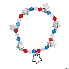 Patriotic Stretchy Bracelets