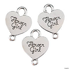 Flower Girl Charms - 19mm
