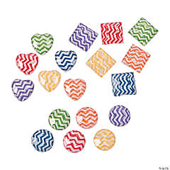 Chevron Self-Adhesive Jewels