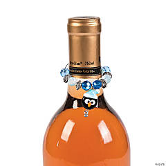 Penguin Wine Bottle Charms Idea