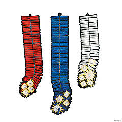Patriotic Firework Hanging Decoration