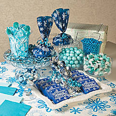 Winter Candy Buffet Idea