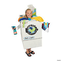 DIY Washing Machine Costume Idea