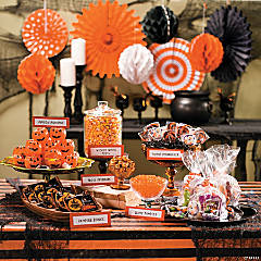 Halloween Candy Buffet Idea