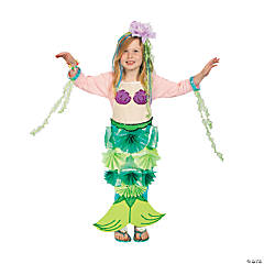 DIY Mermaid Costume Idea