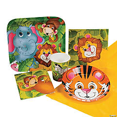 Zoo Animal Party Pack