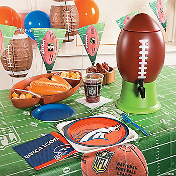 NFL® Denver Broncos™ Deluxe Party Pack