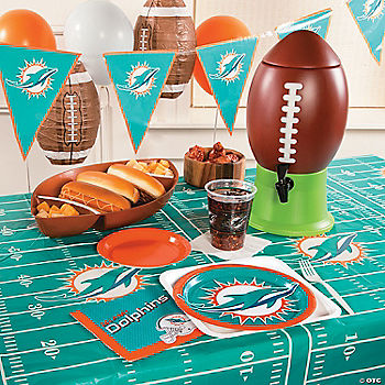 NFL® Miami Dolphins™ Deluxe Party Pack
