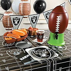 NFL® Oakland Raiders™ Deluxe Party Pack