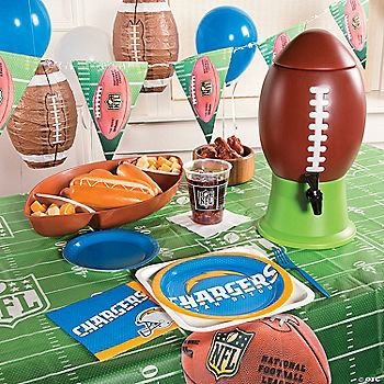 NFL® San Diego Chargers™ Deluxe Party Pack