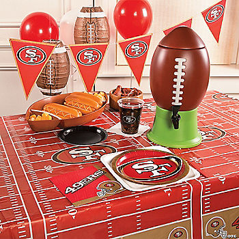 NFL® San Francisco 49ers™ Deluxe Party Pack