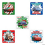 Disney Cars Christmas Stickers