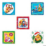 Winnie The Pooh Holiday Stickers
